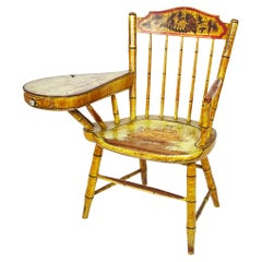 New England Painted Desk Chair, circa 1840