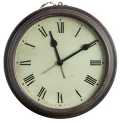 New England Prep School Hall Clock, America, 19th Century