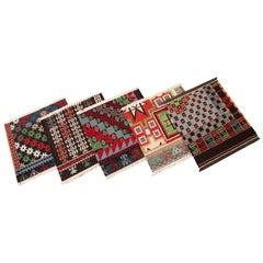 New England Soumak Collection Handwoven Wool Soumak Custom Rug