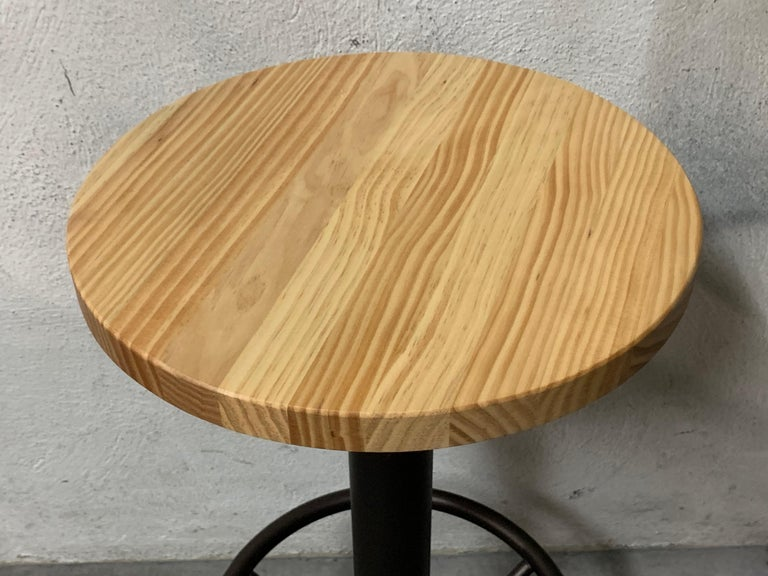 New Extendable Dining Table for Indoor and Outdoor with Wood Top In New Condition For Sale In Miami, FL