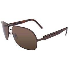 New Fendi Aviator Unisex Sunglasses With Case