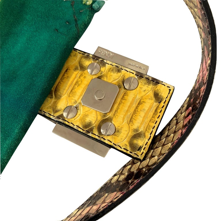 New Fendi Hand Painted Python Bag Featured in the 15th Anniversary Baguette Book 9