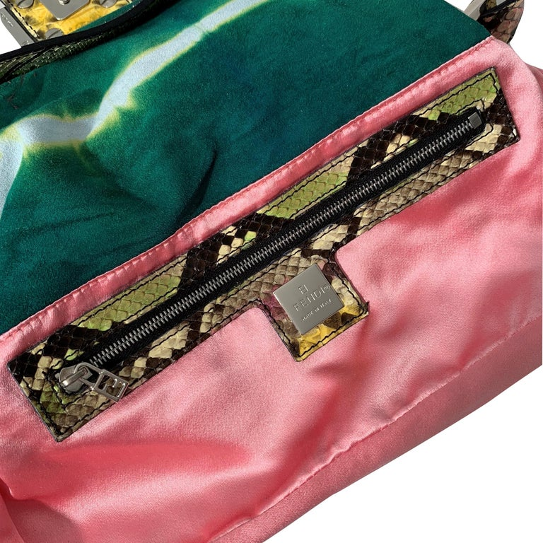 New Fendi Hand Painted Python Bag Featured in the 15th Anniversary Baguette Book 3