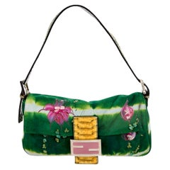 New Fendi Hand Painted Python Bag Featured in the 15th Anniversary Baguette Book