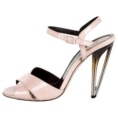 New Fendi Karl Lagerfeld Runway 2015 Heels Sandals Sz 40