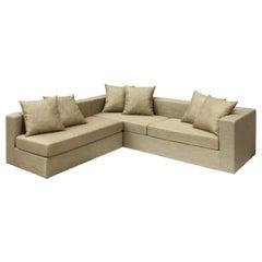 New Gotha Beige Corner Sofa