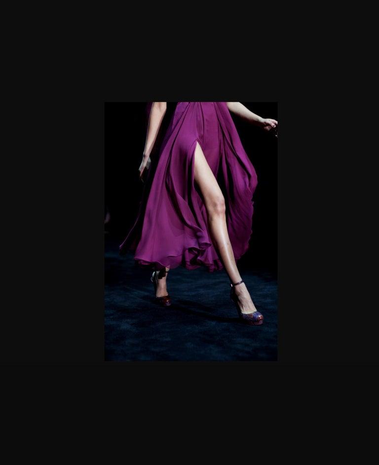 New Gucci 90th Anniversary Ad Runway Python Skakeskin Pump Heels Sz 37   $2425 For Sale 3