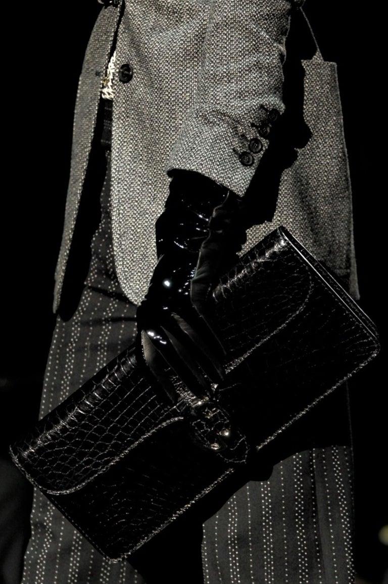 New Gucci 90th Anniversary Wool Runway Pants F/W 2011 Sz 38 For Sale 2