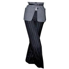 New Gucci 90th Anniversary Wool Runway Pants F/W 2011 Sz 42
