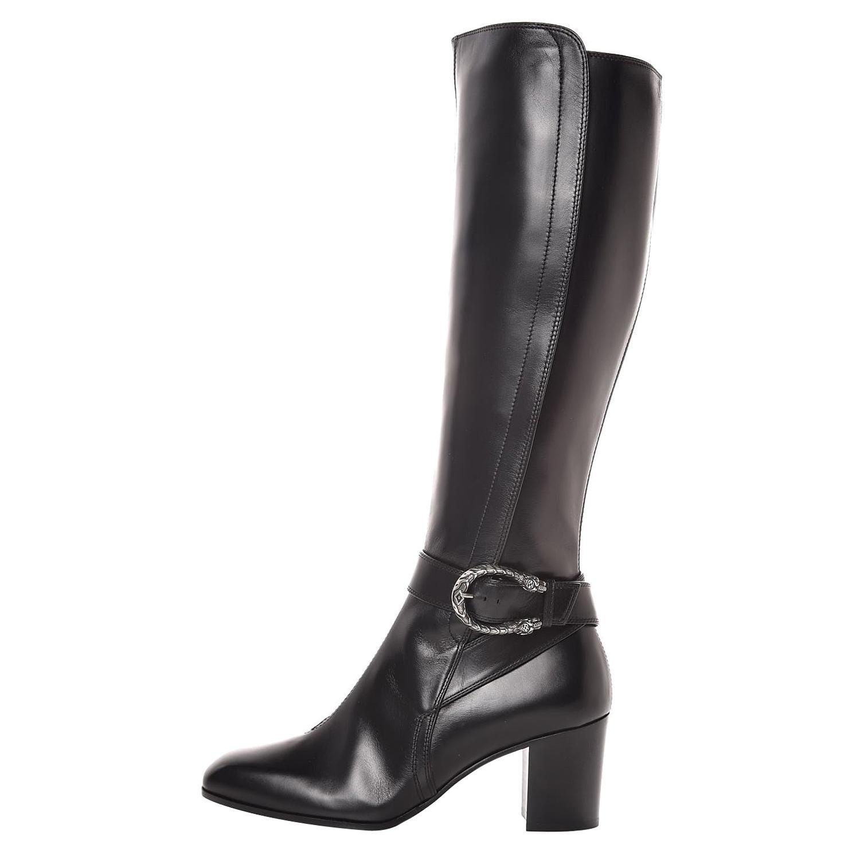 New GUCCI Calfskin Dionysus Knee High Boots 37