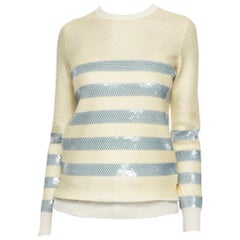 New Gucci Cruise Resort 2015 Ad Cashmere Sequin Sweater