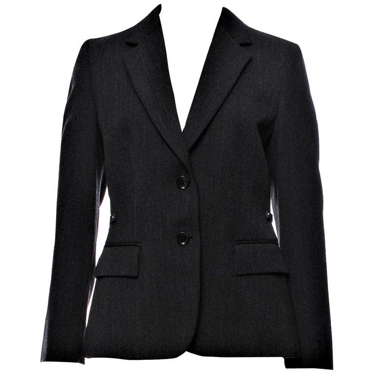 New Gucci F/W 2006 Runway Ad Blazer Coat Jacket  For Sale