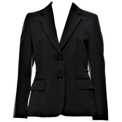 New Gucci F/W 2006 Runway Ad Blazer Coat Jacket Sz 44