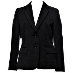 New Gucci F/W 2006 Runway Ad Blazer Coat Jacket Sz 44
