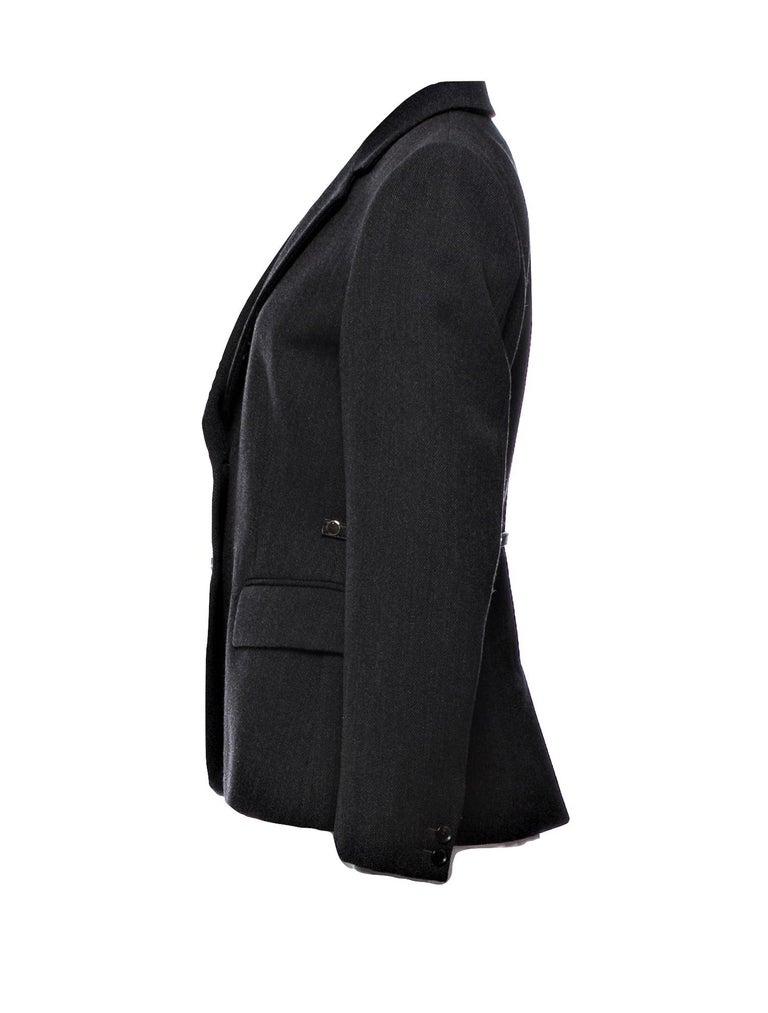 Black New Gucci F/W 2006 Runway Ad Blazer Coat Jacket  For Sale