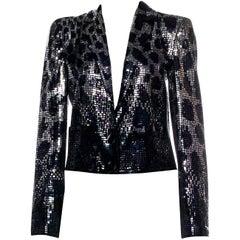 New Gucci F/W 2009 Sienna Miller Runway Ad Evening Coat Jacket Sz 40 $4650