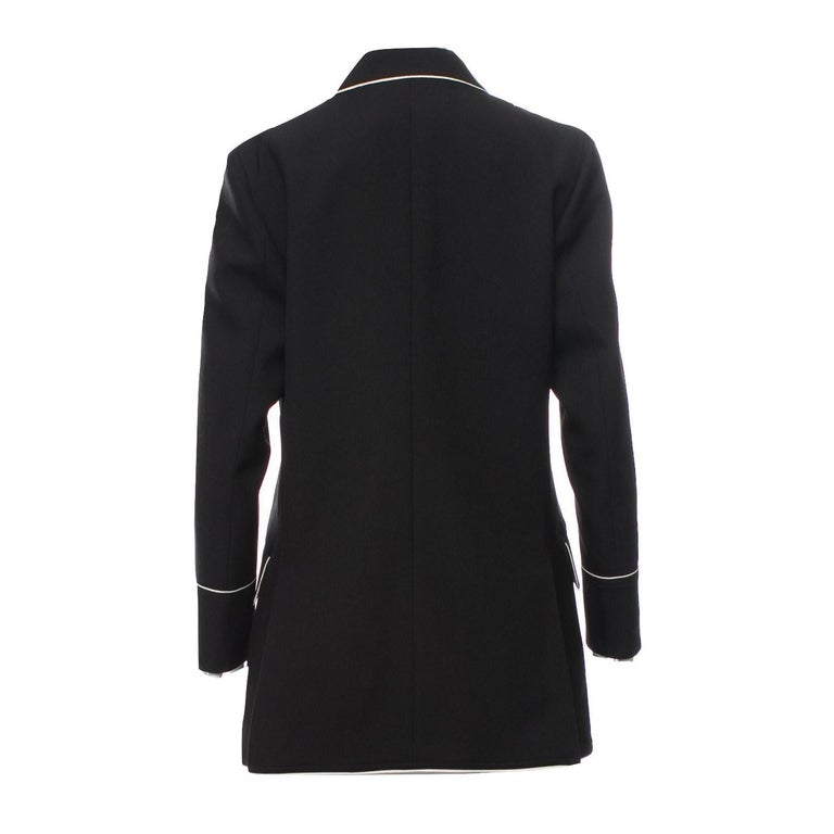 New Gucci F/W 2015 Runway Ad Blazer Coat Jacket Sz 48 U.S. 8/10 For Sale 7