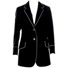 New Gucci F/W 2015 Runway Ad Blazer Coat Jacket Sz 48 U.S. 8/10