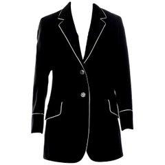 New Gucci F/W 2015 Runway Ad Blazer Coat Jacket Sz 48 U.S. 8/10