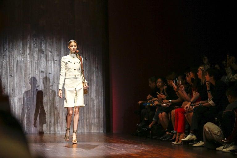 New Gucci Lykke Li Python Spring 2015 Runway Pumps Heels Sz 39.5 For Sale 6
