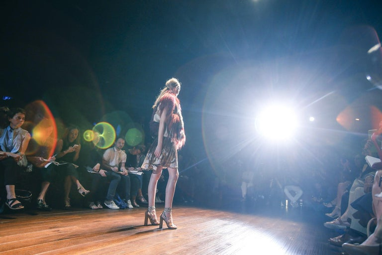 New Gucci Lykke Li Python Spring 2015 Runway Pumps Heels Sz 39.5 For Sale 13
