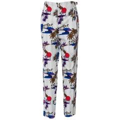 New Gucci Runway Pants S / S 2009 Sz 44 U.S. 6/8