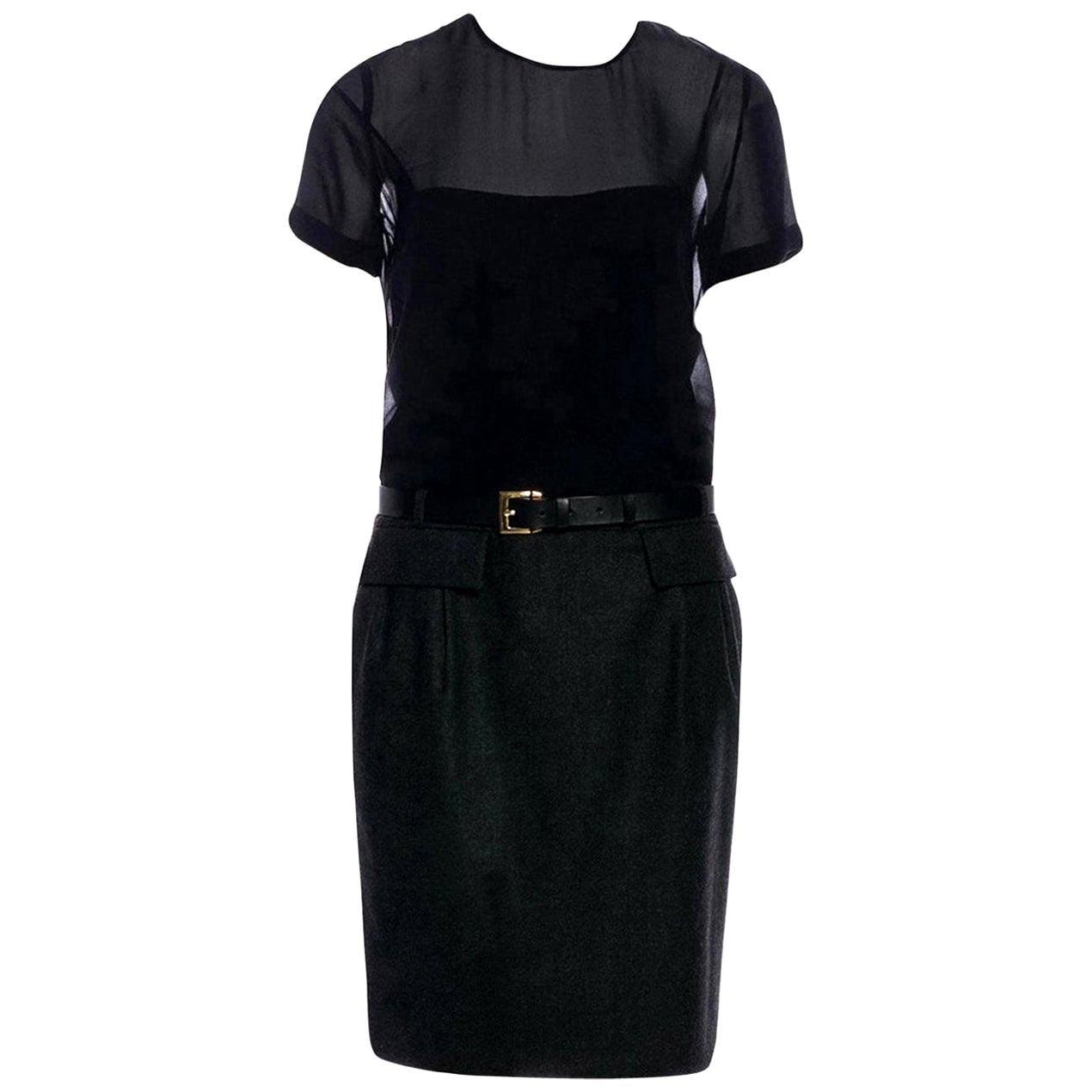 New Gucci Wool & Cashmere Dress 90th Anniversary Pre-Fall 2011