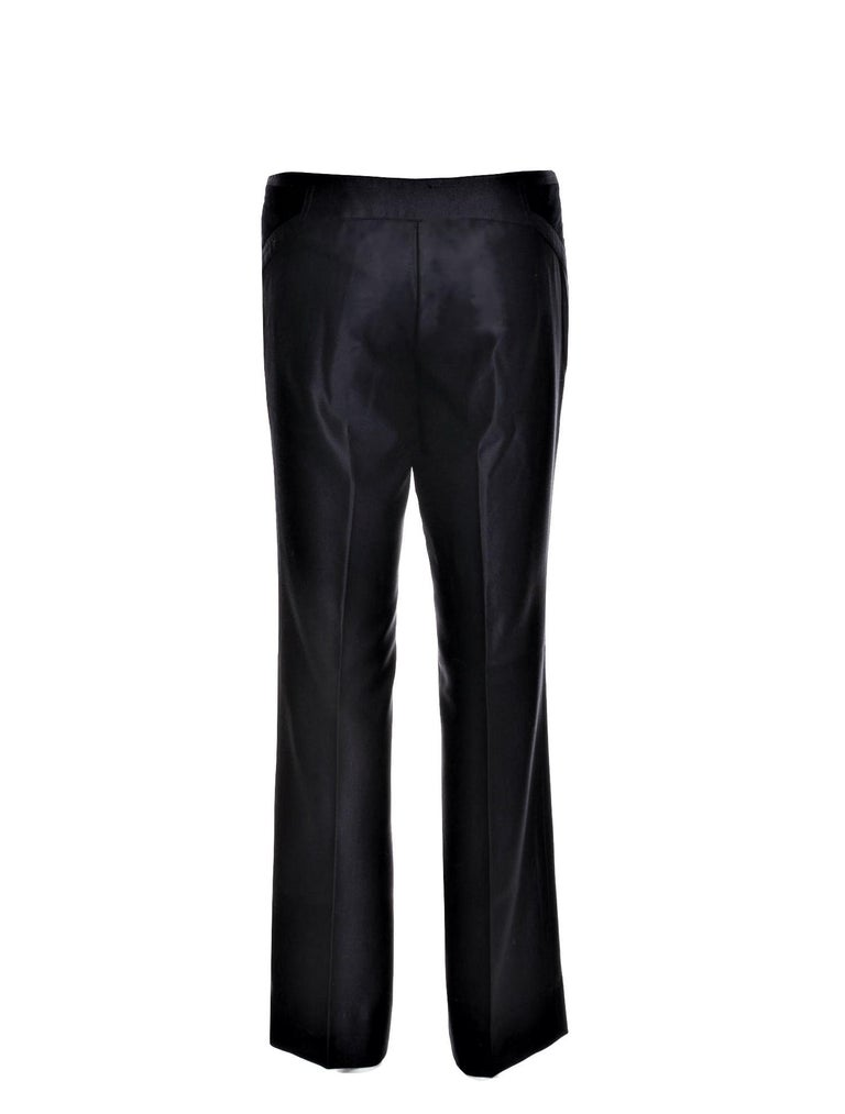 Women's New Gucci Wool & Silk Runway Pants F / W 2005 Sz 44 U.S. 8 For Sale
