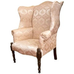 New Hampshire Sheraton Mahogany Wingchair