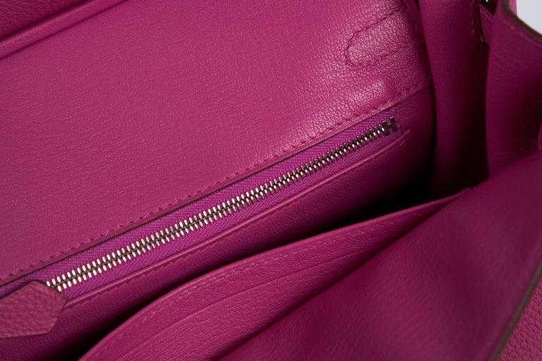 NEW Hermès 25cm Magnolia Togo Birkin in Box 7
