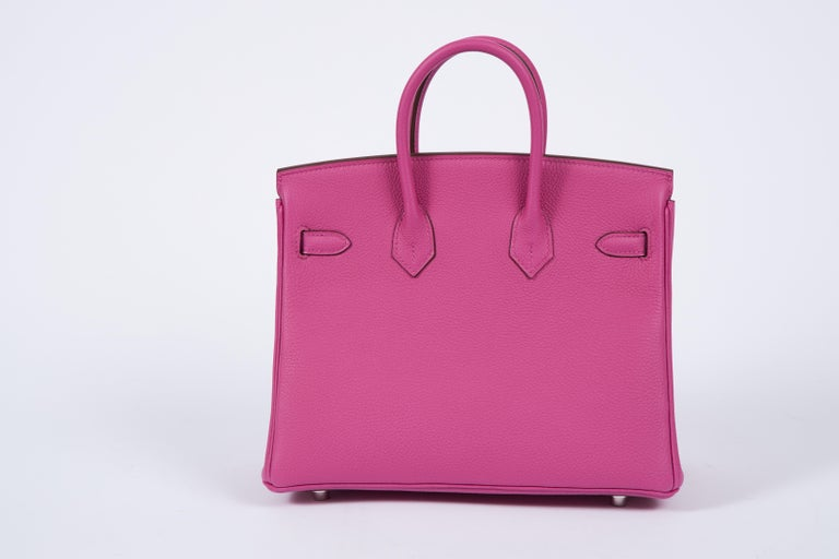 Pink NEW Hermès 25cm Magnolia Togo Birkin in Box