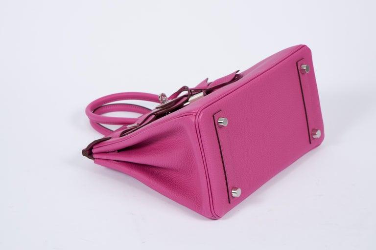 NEW Hermès 25cm Magnolia Togo Birkin in Box In New Condition In West Hollywood, CA