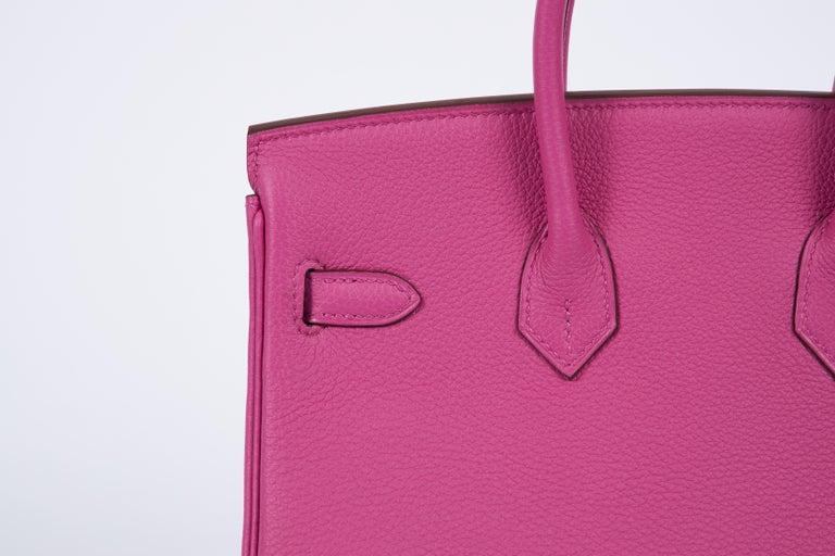 NEW Hermès 25cm Magnolia Togo Birkin in Box 1