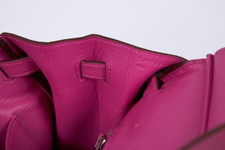 NEW Hermès 25cm Magnolia Togo Birkin in Box 3