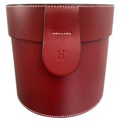 New Hermès Accessories and Shoe Kit Leather Case Trunk