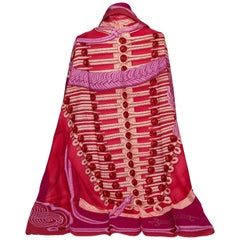 New Hermès Brandenbourgs Pink Shawl in Box