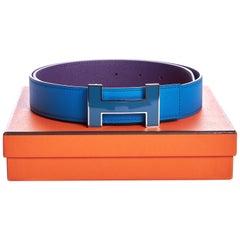 New Hermès Constance Hydra & Crocus Belt 80cm