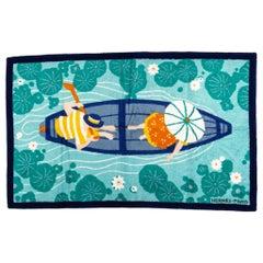 New Hermes Rowing Boat Beach Towel