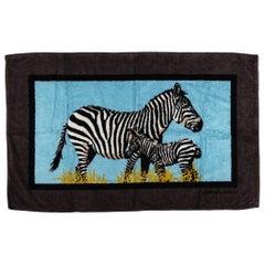 New Hermes Vintage Inspired Zebra Beach Towel