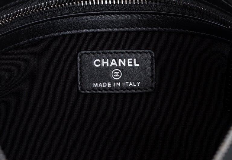 New in Box Chanel Black Paris Salzburg Clutch Bag For Sale 1