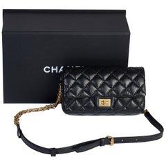 New in Box Chanel  Black Reissue  Belt Bag