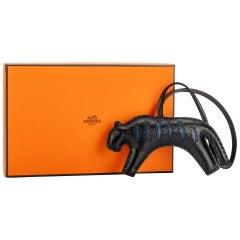 New in Box Hermes 2020 Black Jaguar Bag Charm