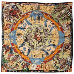 New in Box Hermès Collectible Mythologies Scarf