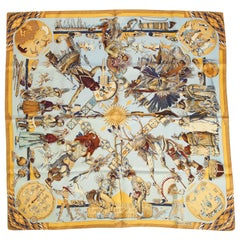 New in Box Hermès Dances des Indiennes Silk Twill Scarf