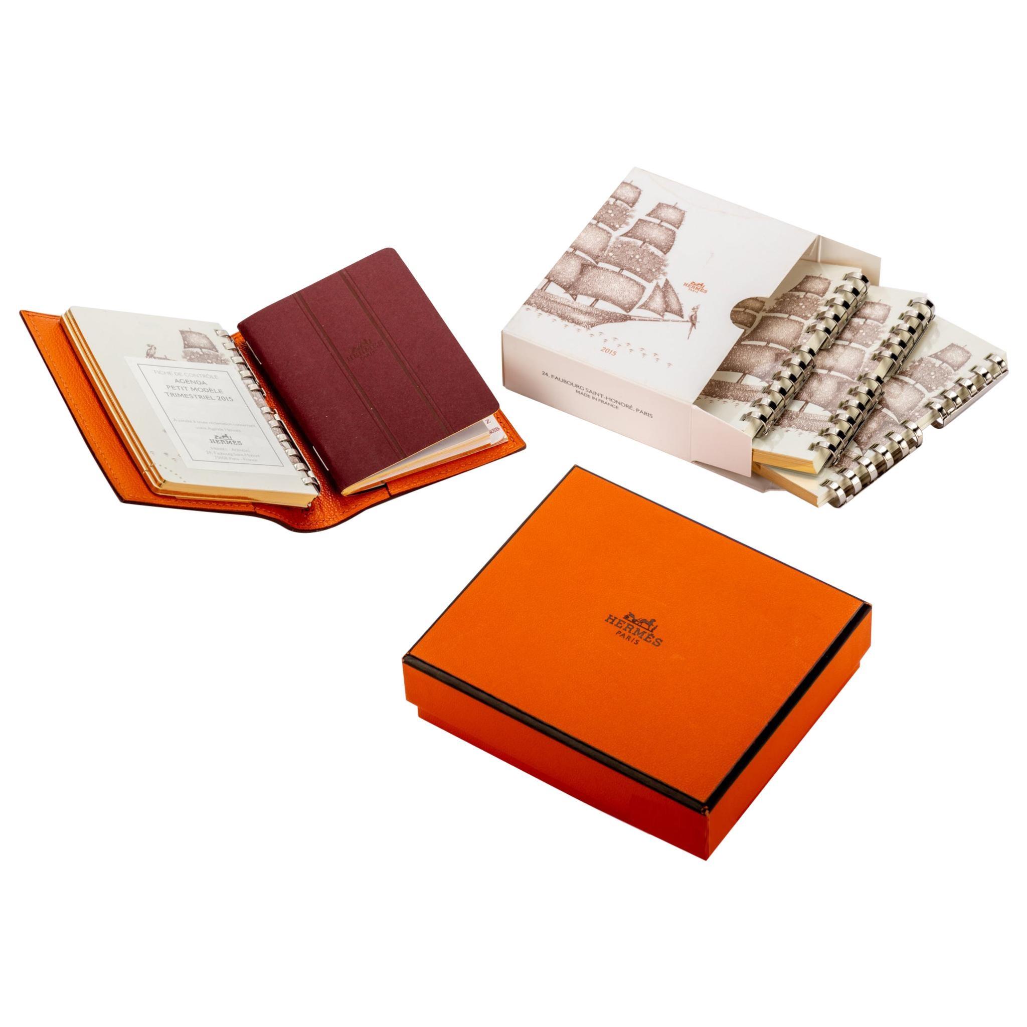New in Box Hermes Goatskin Agenda Planner
