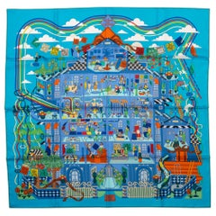 New in Box Hermes La Maison De Carres Scarf