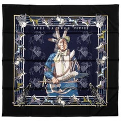New in Box Hermes Limited Edition Pawnee Bandana Scarf
