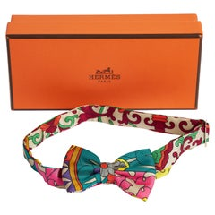 New in Box Hermes Mini Silk Bow Tie or Bracelet