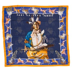 New in Box Hermès Pani la Shar Pawnee Scarf