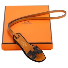 New in Box Hermes Rare Oran Black Bag Charm
